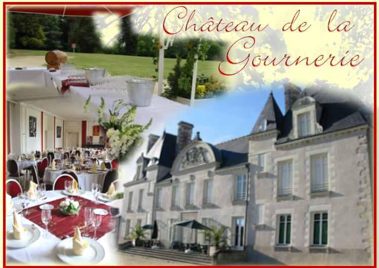 château de la gournerie saint herblain réception mariage pays loire ...