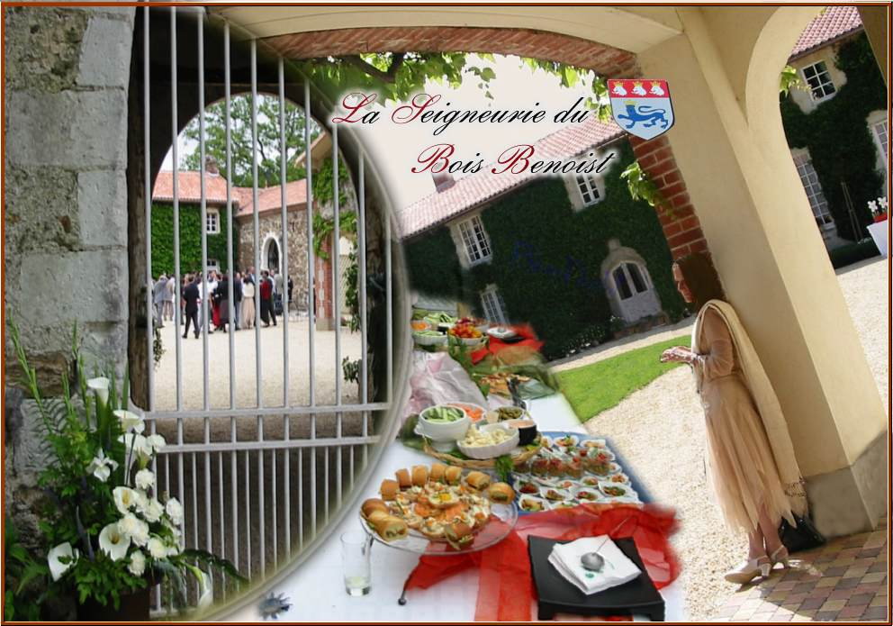 promotion seigneurie du bois benoist - Salle Mariage Vallet